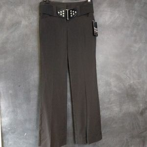 TRACY EVANS | Black Wide Leg Trousers